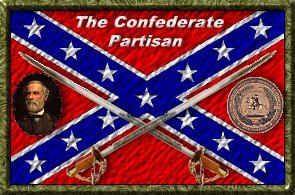 Copyrighted Confederate Partisan Flag